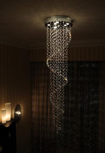 Nowlighting offers et2 lighting et 80930 lighting egyptian et2 contemporary lighting 23 12 cascada 9 light chandelier in polished aloadofball Images