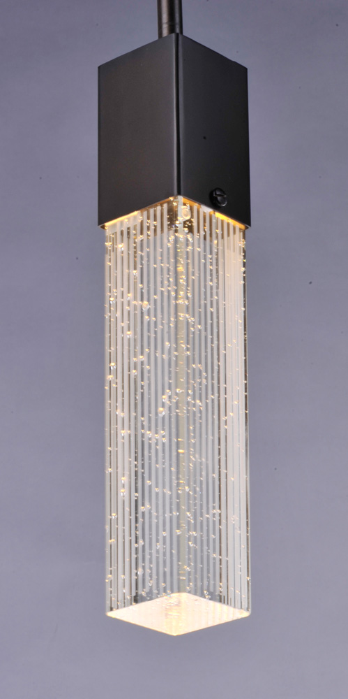 et2 lighting fizz iii 3light led pendant in bronze