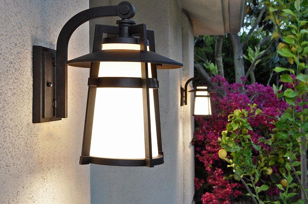 Nice ... Maxim Lighting   Calistoga Outdoor Wall Lantern In Adobe With Satin  White Glass ...