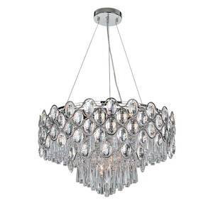 Maxim Lighting - Jewel Single Pendant in Polished Chrome with Beveled Crystal Glass