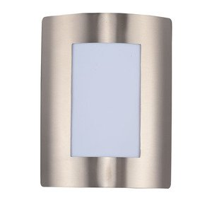 Maxim Lighting - View LED 1-Light Wall Sconce in Stainless Steel