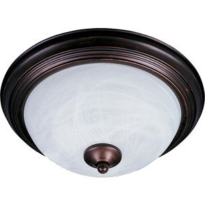 Maxim Lighting - Essentials 2-Light Flush Mount in Oil Rubbed Bronze