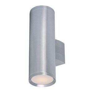 Maxim Lighting - Lightray 2-Light Wall Sconce in Brushed Aluminum