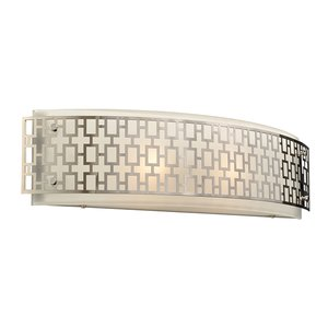 PLC Lighting - Ethen Collection - Bath Lights in Polished Chrome