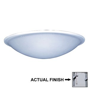 PLC Lighting - Valencia Collection - Flush Mount Lights in Polished Chrome