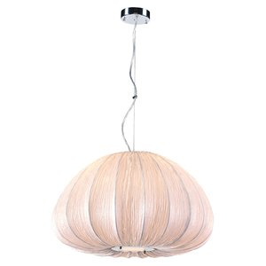PLC Lighting - Dente Collection - Pendant Lights in Ivory