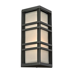 PLC Lighting - Trevino Collection - Outdoor Wall Lights in Bronze