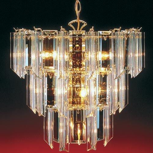 trans globe lighting tgl chandler 3 tier acrylic chandelier in polished brass