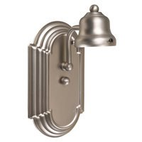 Craftmade - Arch Arm - Racetrack 1 Light Wall Sconce in Brushed Satin Nickel