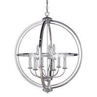 Craftmade - Berkeley - 9 Light Foyer in Chrome