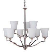 Craftmade - Helena - 9 Light Chandelier in Polished Nickel