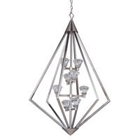Craftmade - Radiante - 8 Light LED Foyer in Brushed Polished Nickel