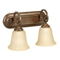 Craftmade - Jeremiah Cecilia Lighting - 2 Light Vanity in Peruvian Bronze
