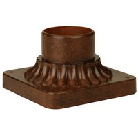 Craftmade - Exterior Direct Burial and Post Lighting - Pier Base in Aged Bronze