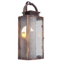 Craftmade - Hearth - Small Pocket LED Sconce in Weathered Copper