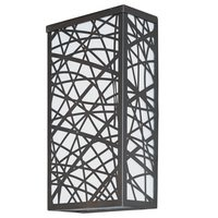 ET2 Lighting - Clearance - Inca LED Medium Outdoor Wall Sconce in Bronze