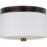 ET2 Lighting - Elements - Elements 2-Light Flush Mount in Oil Rubbed Bronze