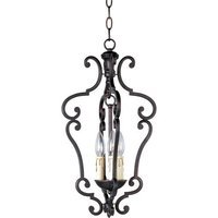 "Maxim Lighting - Richmond - 11"" 3-Light Entry Foyer Pendant in Colonial Umber"