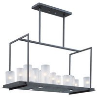 Maxim Lighting - Clearance - Urban Nights 20-Light Chandelier in Textured Black