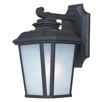 Maxim Lighting - Radcliffe - Radcliffe 1-Light Small Outdoor Wall in Black Oxide