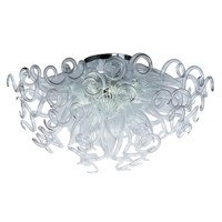 Maxim Lighting - Taurus LED - LED 12 Light Semi Flush Mount in Polished Chrome with Clear Glass