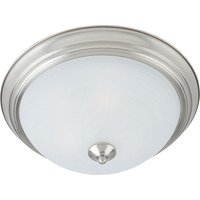 Maxim Lighting - Flush Mount EE - 1-Light Flush Mount in Satin Nickel