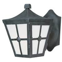 Maxim Lighting - Castille EE - Energy Efficient Light Outdoor Wall Lantern in Country Forge with Frosted Glass